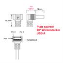 CU-B44-D-05: USB-Kabel A gewinkelt an Micro B gerade 50cm